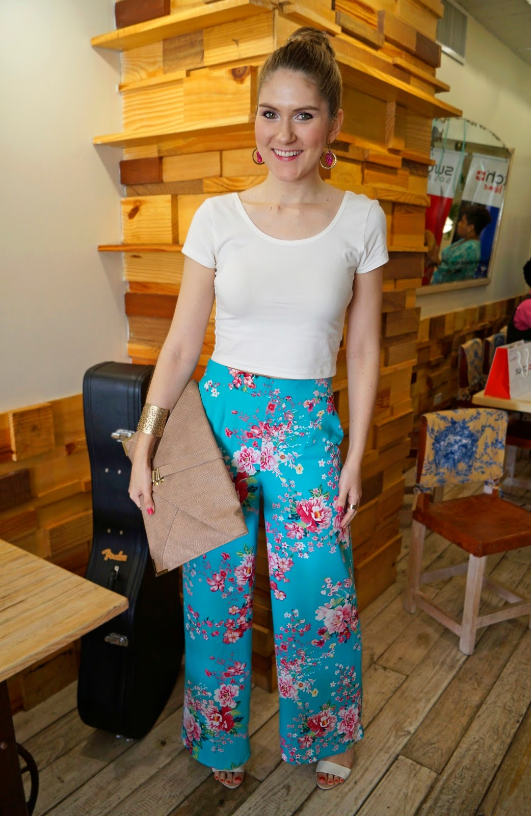 Click through to see two other ways to wear these floral pants!