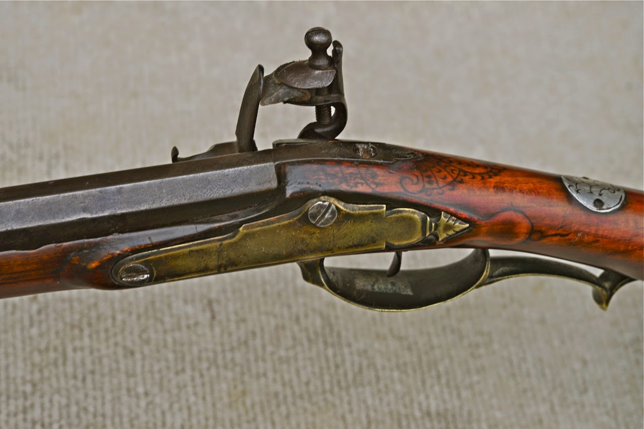 Contemporary Makers: Antique Lehigh Valley Rifle Attributed