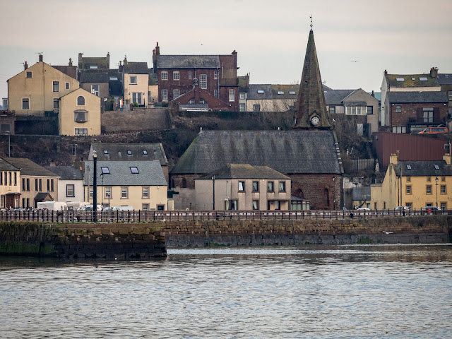 Photo of Maryport from the Solway Firth