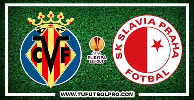 Ver Villarreal vs Slavia Praga EN VIVO Por Internet Hoy 19 de Octubre 2017