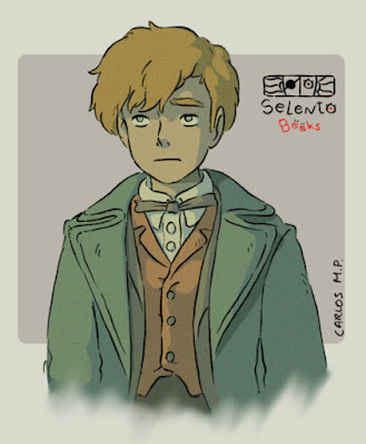 FANART Newt Scamander (Animales fantásticos y dónde encontrarlos de J.K. Rowling)   Fantastic Beasts: The Crimes Of Grindelwald by Selento Books