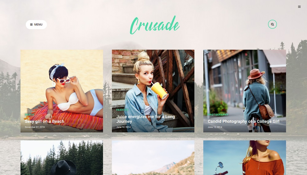 Crusade v1.0 - Responsive Photography Blogger Template