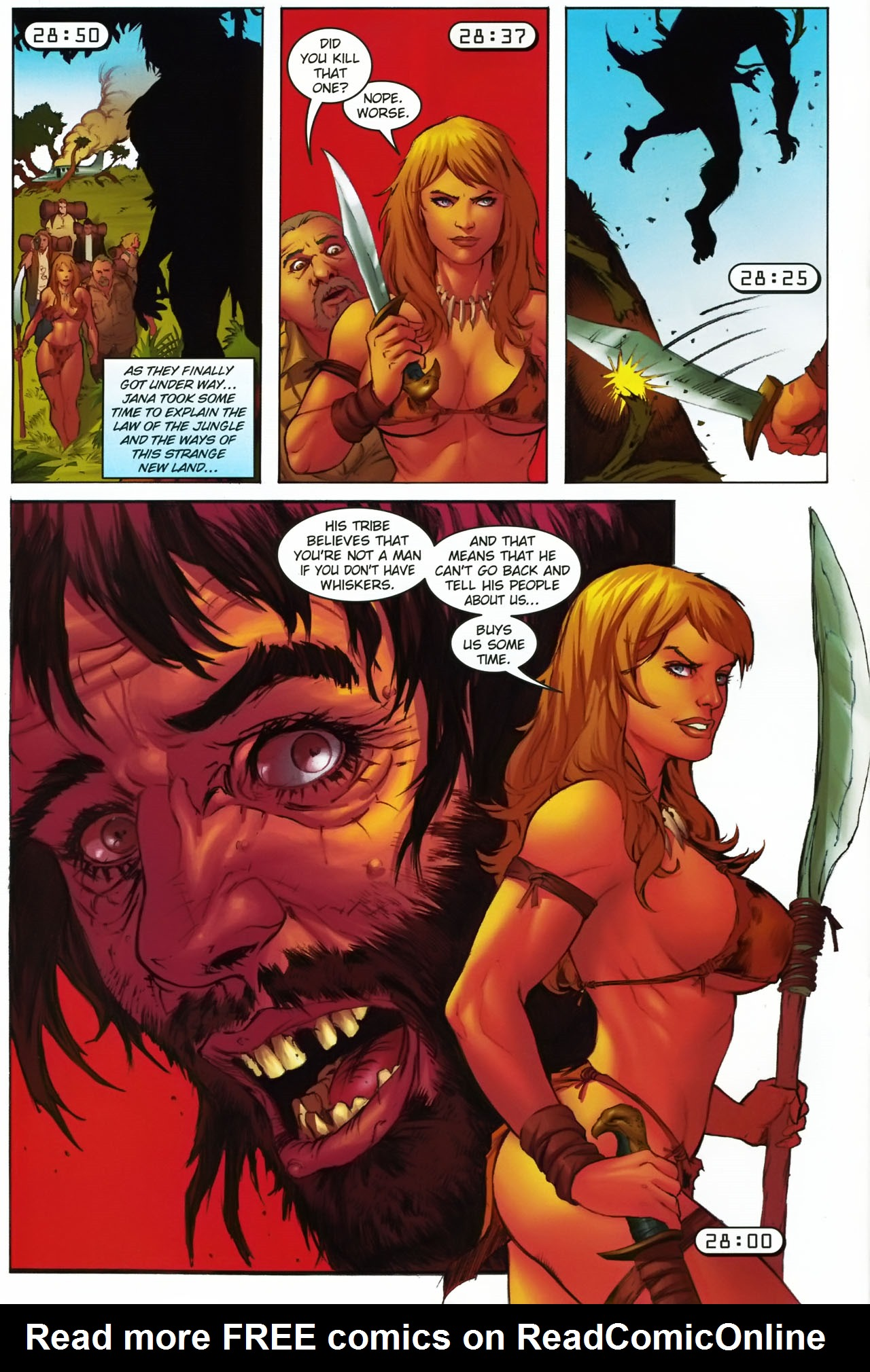 Read online Jungle Girl comic -  Issue #1 - 15
