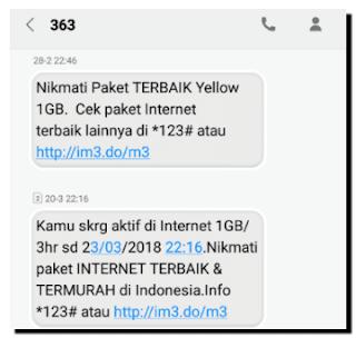 Paket Yellow IM3