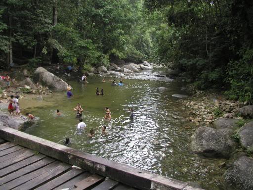 Taipingmali Mat Saleh Mai Bersih Air Terjun Pecah Batu Taiping