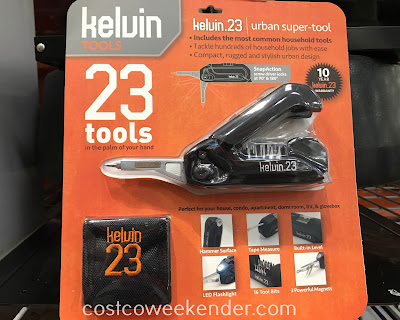 Tackle hundreds of household jobs with ease with the Kelvin.23 Urban Super Tool