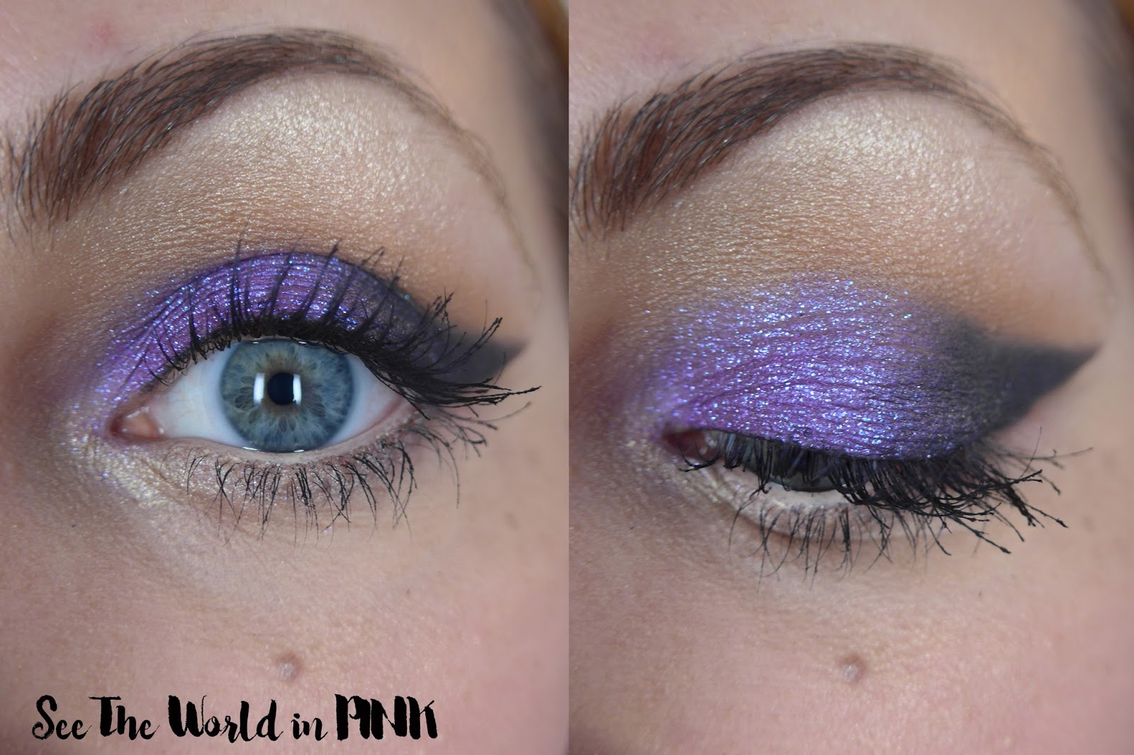 Makeup of the Day Post ~ Bold Purple Shadow