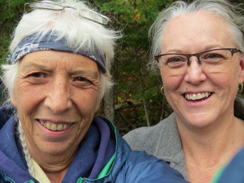 hiker friends