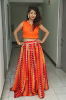 Shubhangi Bant in Orange Lehenga Choli Stunning Beauty ~  Exclusive Celebrities Galleries 008.JPG