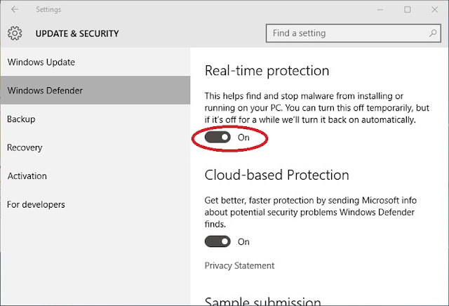 Pengaturan-Windows-Defender