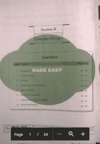 Download Compiler Computer Science Made easy Workbook Pdf
