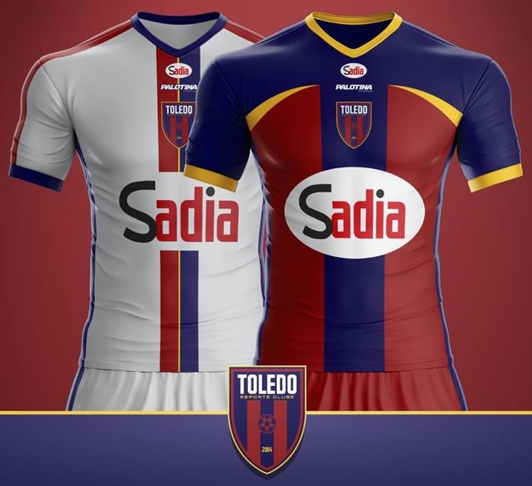 494f54bc50 Palotina divulga as novas camisas do Toledo - Show de Camisas