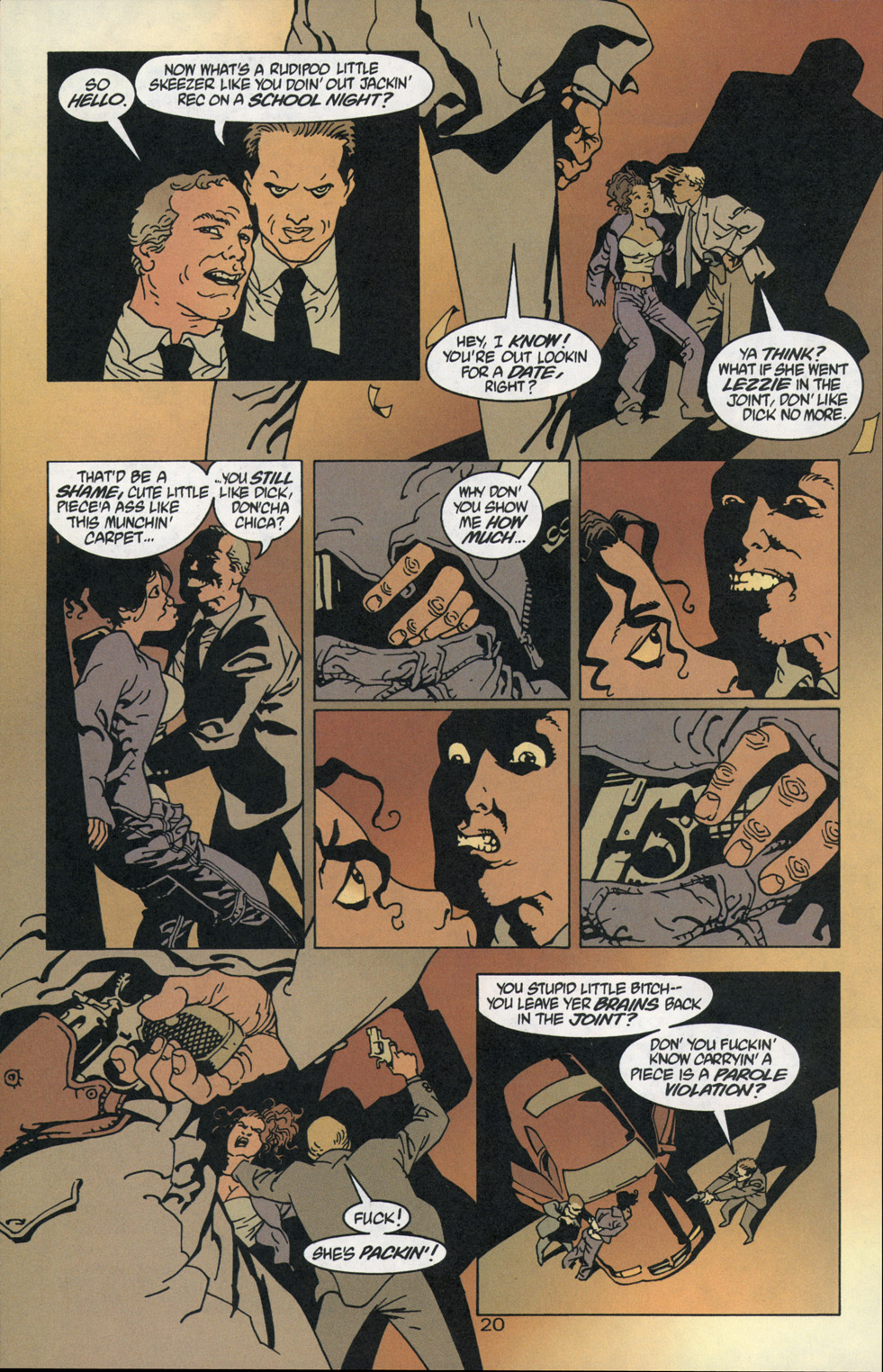 Read online 100 Bullets comic -  Issue #1 - 21