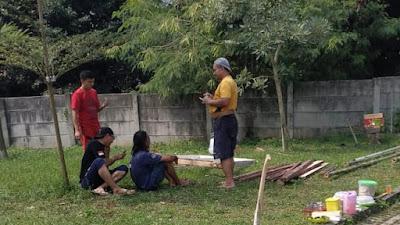 Warga Perum Cikupa Asri Rayakan HUT RI Ke-76 Dengan Gotong Royong