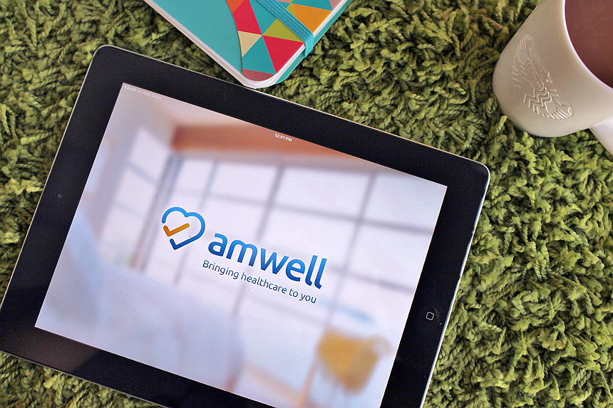 Consult with a certified physician without a wait, for as little as $49, or covered under most insurance plans, using Amwell telehealth consults. #MomsLoveAmwell (ad)