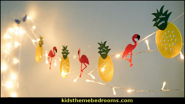 Flamingo Pineapple banner   Tropical party decorations - tropical party ideas - ALOHA Hawaii Luau Party Decorations - Luau Hawaiian Grass Table Skirt raffia Decorations - Hula Hibiscus Tropical Birthday Summer Pool Party Supplies - tiki party pineapple party decorations - beach party - Birthday party  photo backdrop - tropical themed cake decorations - beach tiki themed table decorations -  party props - summer party