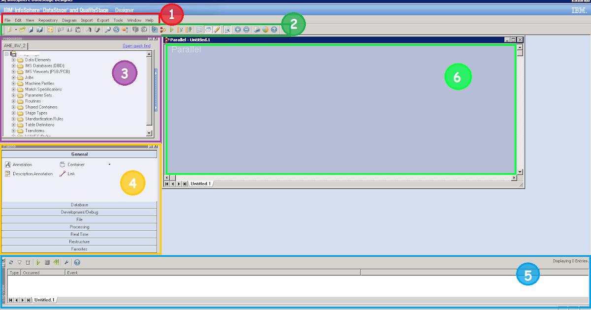 Data Management: 02: Overview of Datastage Designer Client