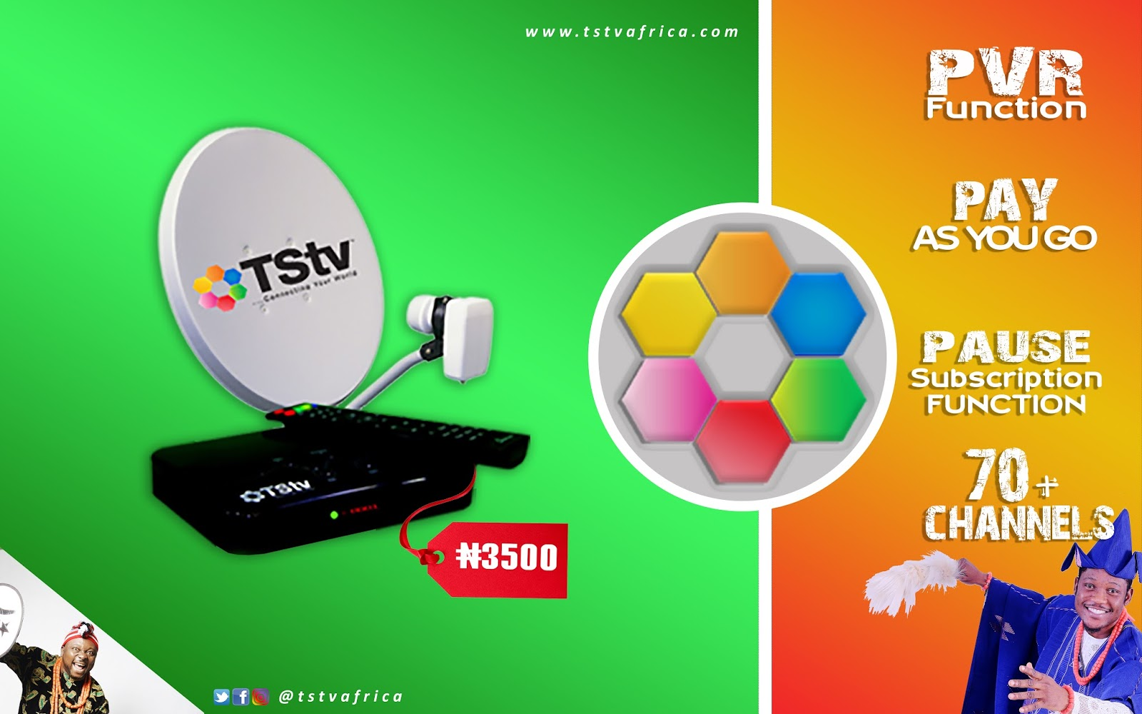 Features Properties Of The New Tstv Satellite Tv Decoder My