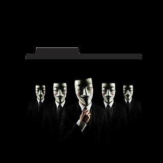 V For Vendetta Movie Folder Icon