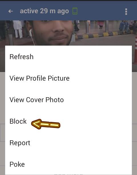 facebook friend block