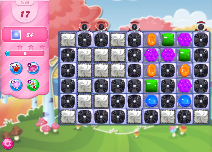 Candy Crush Saga level 3143