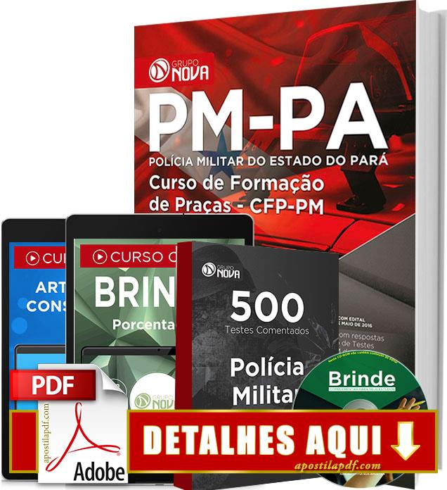 Apostila PM PA 2016 Curso de Formação de Praças Impressa