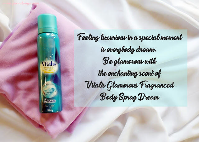 vitalis body spray dream biru