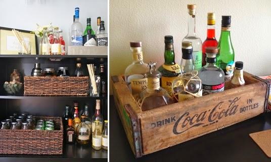 organizar bebidas