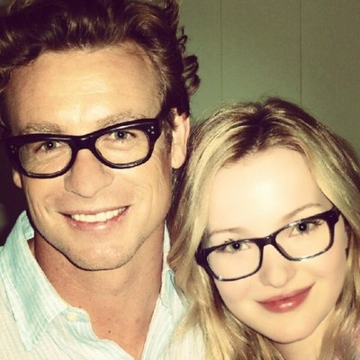 (:RED BLOG:): |BTS| Simon Baker with guest stars