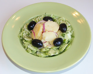Retete mancare de post cu legume salata orientala cu salata de castraveti,