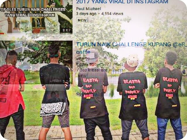 Tarian Turun Naik Challenge Tenarkan Blasta Rap Family, Merauke dan Papua