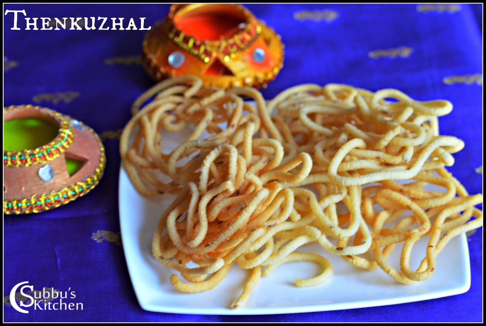 Thenkuzhal Recipe Subbus Kitchen