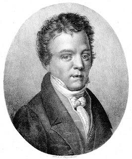 Jan Václav Hugo Voříšek, por Godefroy Engelmann (1788–1839).