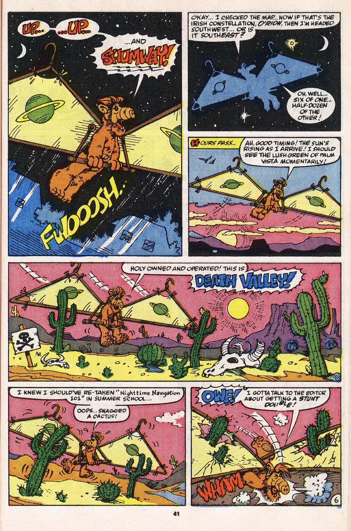 Read online ALF comic -  Issue # _Annual 2 - 38