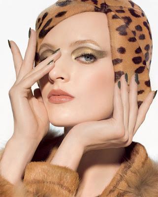 Dior Fall Look Golden Jungle