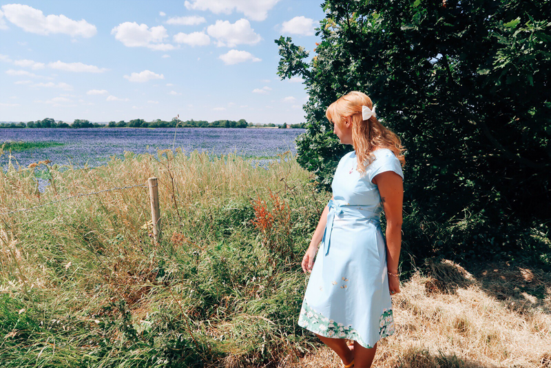 Cath Kidston x Disney Alice in Wonderland dress