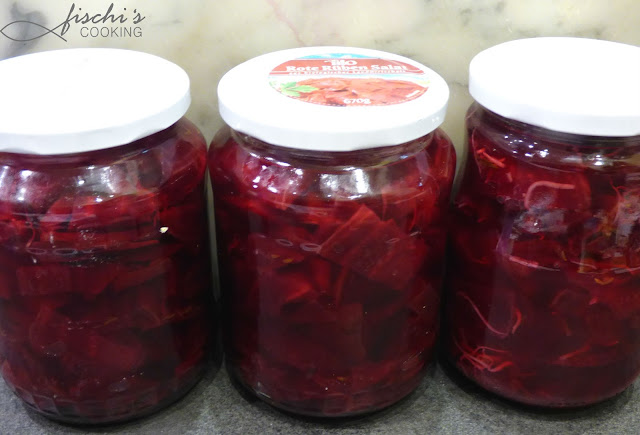 fischiscooking, rote rüben salat, haltbar