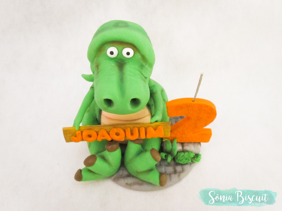 Sonia Biscuit, Biscuit, Topo de Bolo, Dinossauro