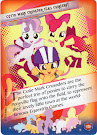 My Little Pony CMC Flag Carriers! Equestrian Friends Trading Card