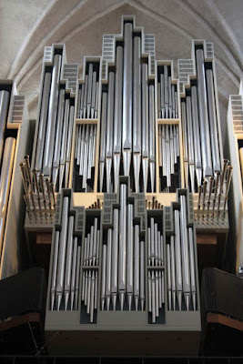 Organ of the cathedral of Turku