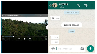 Cara Split Screen di Vivo semua jenis menggunakan Smart Split