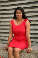 Shravya Reddy in Short Tight Red Dress Spicy Pics ~  Exclusive Pics 099.JPG