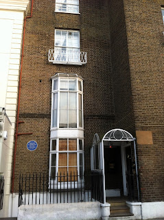The house in Kensington Church Street where Clementi lived in London