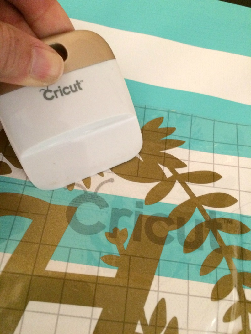 Luxury Make an easy monogrammed canvas wall art using your Cricut Explore