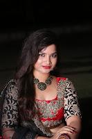 Sirisha Dasari in Red Ghagra Backless Choli ~  035.JPG