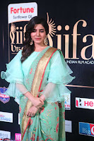 Samantha Ruth Prabhu Smiling Beauty in strange Designer Saree at IIFA Utsavam Awards 2017  Day 2  Exclusive 38.JPG