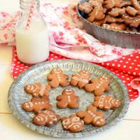 Gingerbread cookies sem glúten