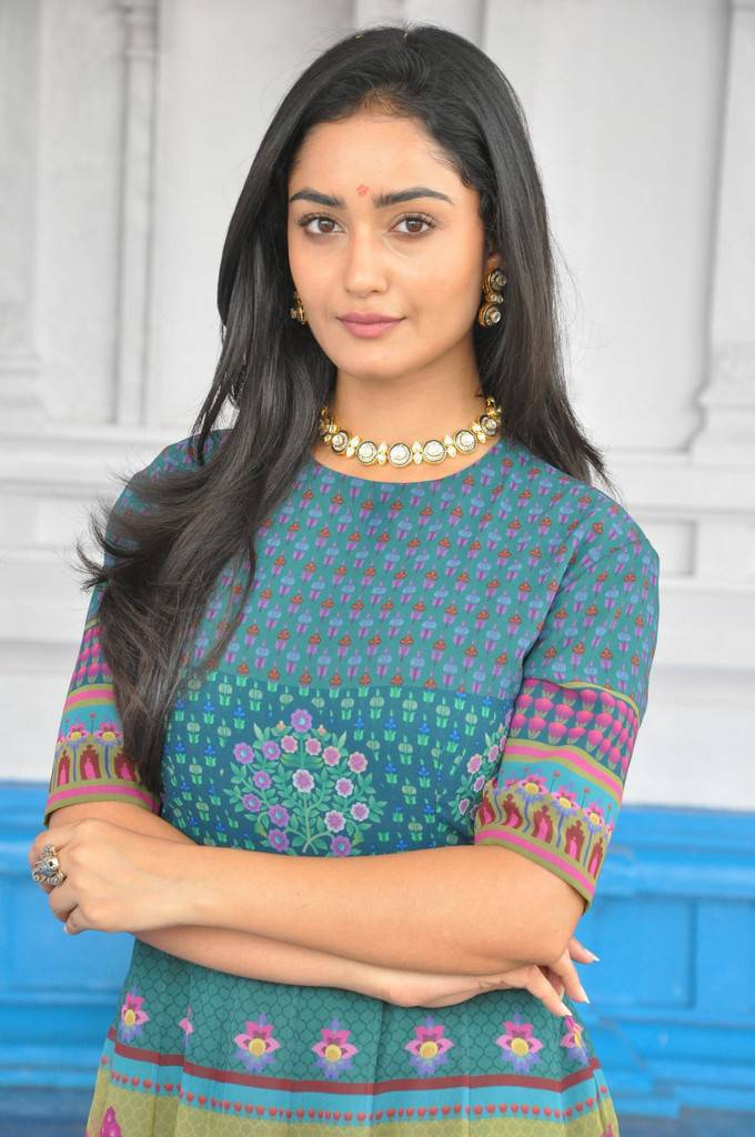 Tridha Choudhury At Anandi Indira Production New Movie Launch Stills