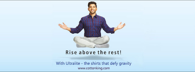 Introducing Cottonking UltraLite - A New Range of 100% cotton shirts.