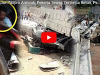 Ngeri! Ini Video Detik-detik Tol Pasuruan-Probolinggo Ambruk